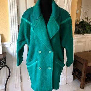Italian 100% Wool Coat